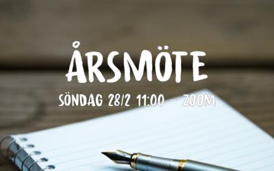 Årsmöte 28/2  11:00